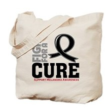 Melanoma Fight For A Cure Tote Bag