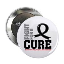 "Melanoma Fight For A Cure 2.25"" Button"