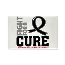 Melanoma Fight For A Cure Rectangle Magnet