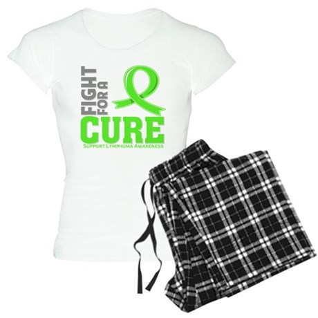 Lymphoma Fight For A Cure Women's Light Pajamas