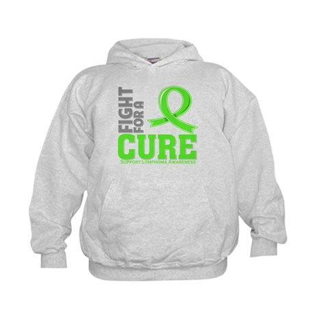 Lymphoma Fight For A Cure Kids Hoodie