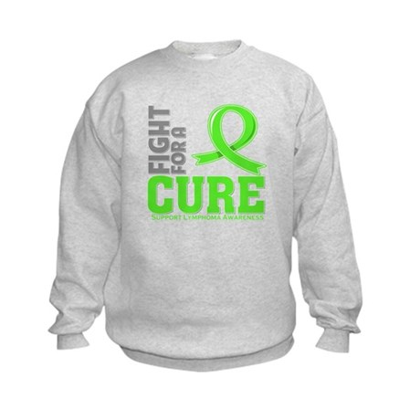 Lymphoma Fight For A Cure Kids Sweatshirt