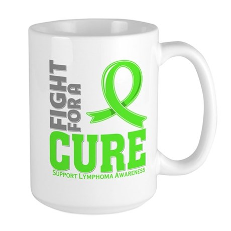 Lymphoma Fight For A Cure Large Mug