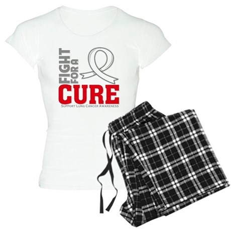 Lung Cancer Fight For A Cure Women's Light Pajamas