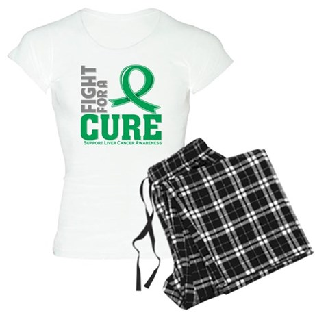 Liver Cancer Fight For A Cure Women's Light Pajama