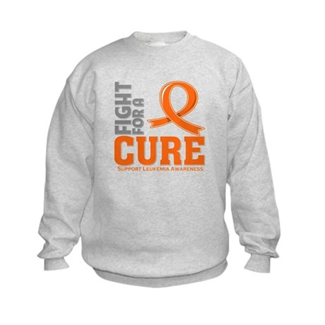 Leukemia Fight For A Cure Kids Sweatshirt