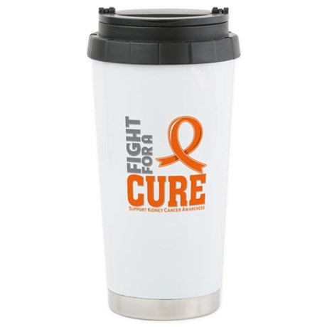 Kidney Cancer Fight For A Cure Ceramic Travel Mug