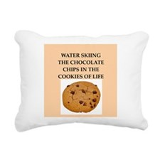 water skiing Rectangular Canvas Pillow