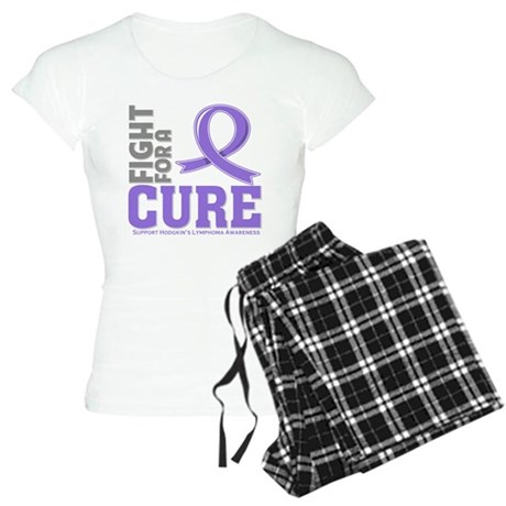 Hodgkins Lymphoma Fight For A Cure Women's Light P