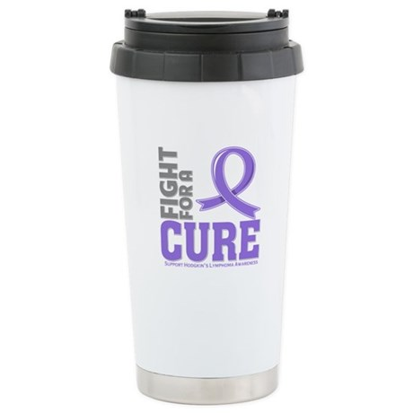 Hodgkins Lymphoma Fight For A Cure Ceramic Travel