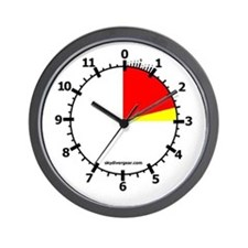 81x Skydiving Altimeter Wall Clock