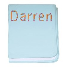 Darren Pencils baby blanket