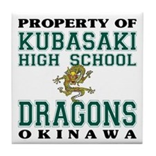 Property Of KHS Dragons Tile Coaster