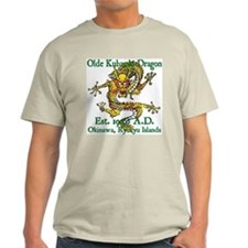 Olde Kubasaki Dragon Ash Grey T-Shirt