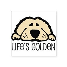 Life's Golden Rectangle Sticker