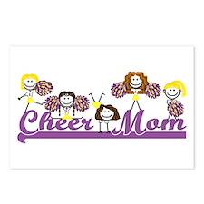 Cheer Mom<br> Postcards (8)