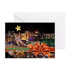 Las Vegas Christmas Greeting Cards (Pk of 20)