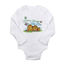 Conserve Energy Long Sleeve Infant Bodysuit