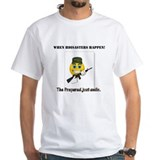 The prepared just smile -Organic Men's T-Shirt T-S