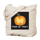 "Pekingese ""Trick or Treat"" Tote Bag"