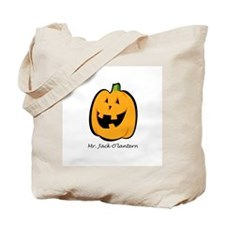 Mr. Jack O'lantern Tote Bag