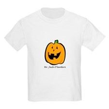 Mr. Jack O'lantern Kids T-Shirt