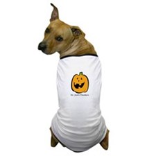 Mr. Jack O'lantern Dog T-Shirt