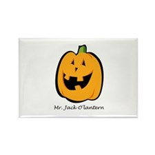 Mr. Jack O'lantern Rectangle Magnet