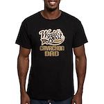 Cavachon Dog Dad Men's Fitted T-Shirt (dark)