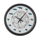 Bucky Ball Large Wall Clock