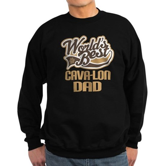 Cava-lon Dog Dad Sweatshirt (dark)