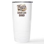 Cava-lon Dog Dad Ceramic Travel Mug