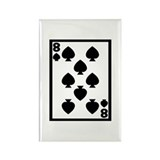 Cute Casino Rectangle Magnet (10 pack)