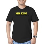 Mr Egg Men's Fitted T-Shirt (dark)