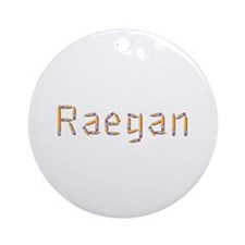 Raegan Pencils Round Ornament