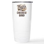 Cheenese Dog Dad Ceramic Travel Mug