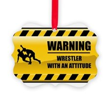 Funny Wrestling Ornament