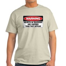 Astro-Warning Ash Grey T-Shirt T-Shirt