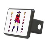 piratefashion Rectangular Hitch Cover