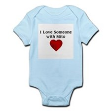I Love Someone with Mito Infant Bodysuit
