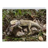 Spiny the Lizard Wall Calendar