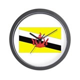 Brunei Wall Clock