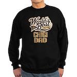 Chigi Dog Dad Sweatshirt (dark)