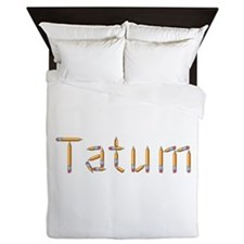 Tatum Pencils Queen Duvet