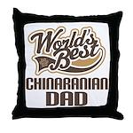 Chinaranian Dog Dad Throw Pillow