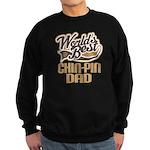 Chin-Pin Dog Dad Sweatshirt (dark)