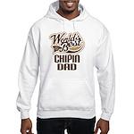 Chipin Dog Dad Hooded Sweatshirt
