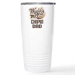 Chipin Dog Dad Ceramic Travel Mug