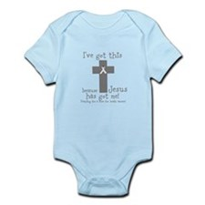 Gray Ive got this Infant Bodysuit