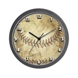Cute Kids baseball Wall Clock